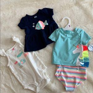 Carter's 9 month summer bundle
